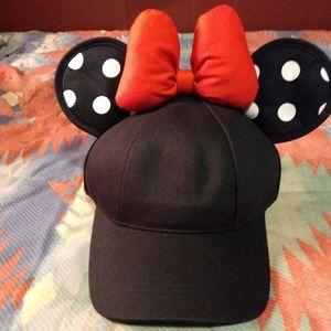 Minnie baseball hat